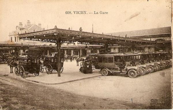 La gare de Vichy