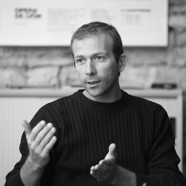 Nicolas Gingand, Consultant en création d'entreprises au sein de l'Union Régionale des SCOP (URSCOP)